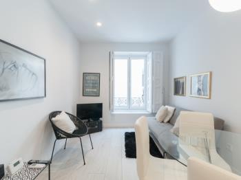 Design Penthouse, Central Madrid, 2BR with terrace - Apartamento en Madrid